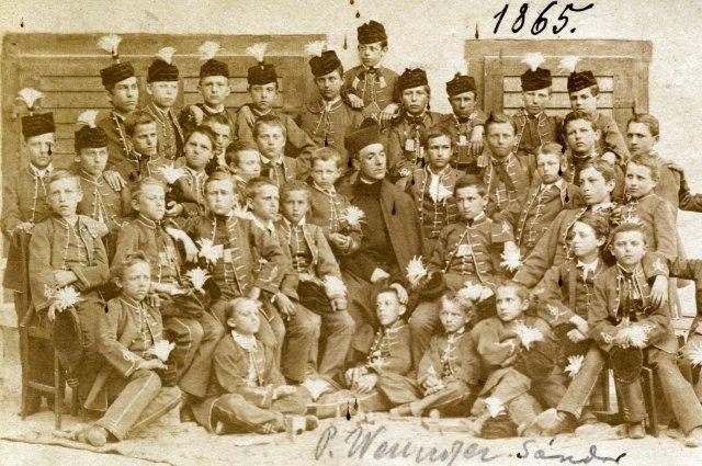 P. Weninger Sándor SJ kalocsai konviktorok között, 1865