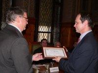 Az év kutatóhelye díj átadása, MOL, 2012. jan. 25.