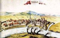 Ansicht von Waitzen, 1664