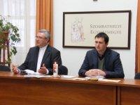 Szombathely, TMOP sajtótájékoztató, 2013.12.11.