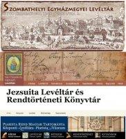 Új egyházi levéltári honlapok, 2014 jan-febr.