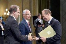 Hoppál Péter, Balog Zoltán, Koltai András Pauler Gyula-díj 2017